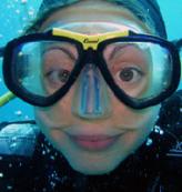 Monitrice de plongée à Banyuls sur mer - école de plongée PlongéeBleue